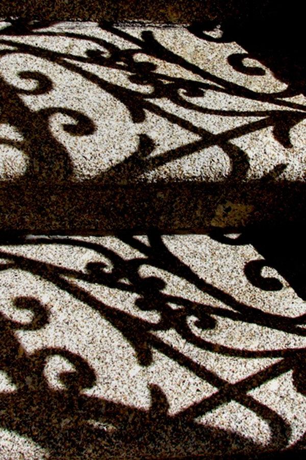 Sombras de um gradil