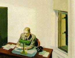 Detalhe de Office-at-night-edward-hopper-1940 - Fonte: Wiki Commons